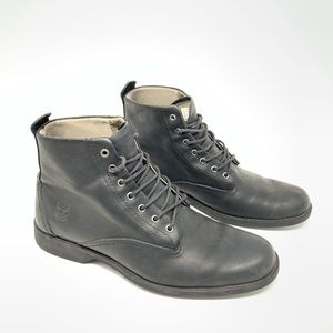 Timberland Leather Ankle Lace-Up Boots